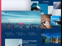 Architectural  Web Concept