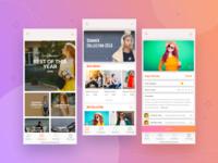 Solo Fashion | iphoneX- iOS App Concept