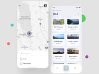 Travelmania App UI 1