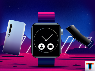 Motorola RAZR Xiaomi Apple Watch watch phone design art shot illustration dribbble apple watch