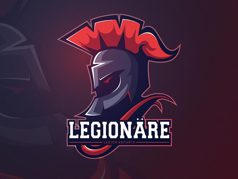 Legionare mascot logo game gaming esport sport
