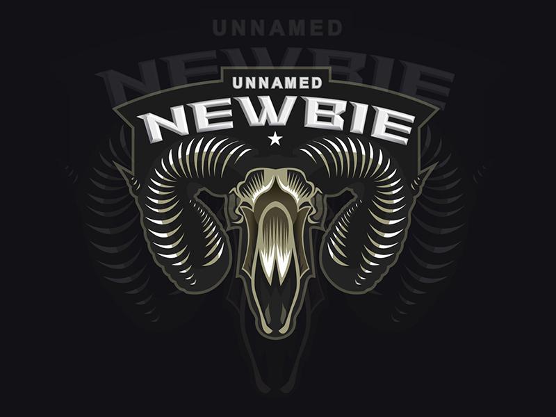 Newbie mascot logo game gaming esport sport