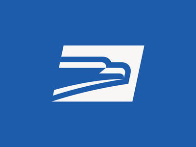 USPS Rebrand Exploration icon design identity eagle logo eagle usps badge design america beak bird postal service mail usa badge rebranding rebrand branding logo
