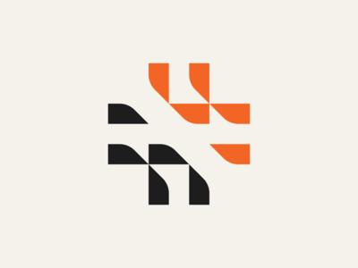 Plus Logo bold retro industrial shapes squares geometric logo brand branding cross icon cross logo plus icon plus logo cross plus icon design logo design symbol mark icon logo