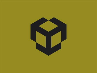 3D Cube with Arrows bold arrow icon arrow logo arrow arrows vintage retro lines industrial 3d cube 3d cube square illustration identity brand symbol mark logo icon