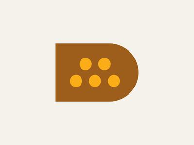 DM Monogram monogram m logo d logo vintage typography type symbol retro mark logo lines letters letter industrial illustration identity icon circle branding alphabet