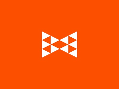 M Logo modern geometric mx logo letter x x logo triangles letter m m logo m typography type letter illustration logomark identity brand symbol icon mark logo