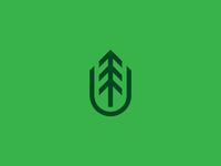 Rebrand - Field PaperCompany vintage tree logo tree symbol simple rebranding rebrand paper minimal mark logomark logo design logo lines identity icon branding brand bold badge