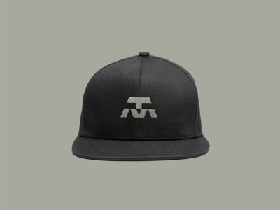 TM Logo training sports logo sports media vector digital cap hat identity branding brand typography type letters tm illustration symbol mark icon logo
