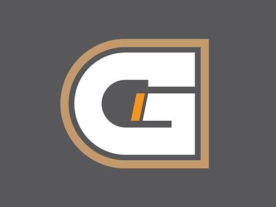 Illustration - Letter G industrial outline g typography america symbol monogram marl logo letter illustration icon
