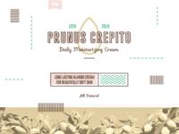 Prunus Crepito Branding