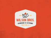 Wilson Bros. Barbecue & Catering - Logo