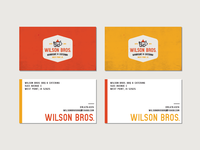 Wilson Bros. Barbeque & Catering - Business Cards