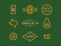Circle H Branding - Additional Marks