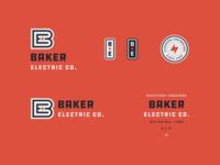 Baker Electric Branding