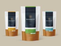Remedy Coffee Branding  - Bag Collection
