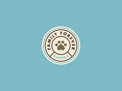 Family Forever Puppies Branding
