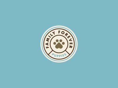 Family Forever Puppies Branding