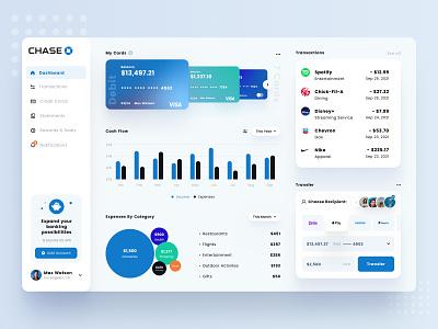 Bank App Dashboard UI bank fintech finance application credit financial dashboard web design website ux ui design