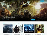 Movierise design homepage ads