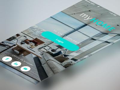 Login App Screen Free