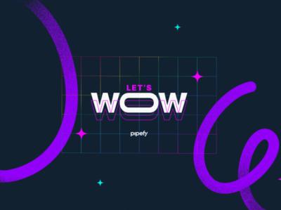 WOW! wow logo type design