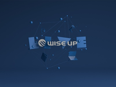 Wise Up Live type 3d c4d