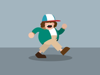 Stranger Things concept vector illustration