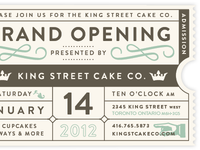 King Street Cake Ticket