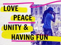 love peace unity