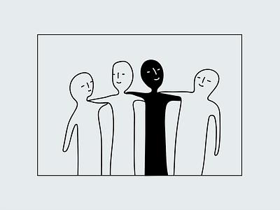 :~) :~) :~) :~) illustrator happy happy face faces blob simple minimalistic minimalist art vector doodle drawing illustration