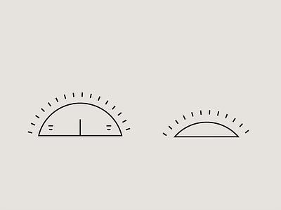 sundown art doodle iconography icon minimalist vector drawing illustration sunrise sunset