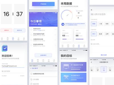 Todo list app app design todo clean design