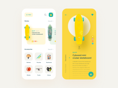 Skateboard App Store