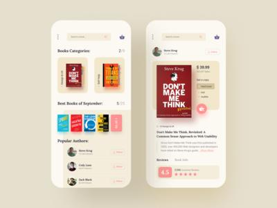 E Book Store App