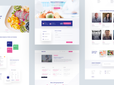 instadiet - Landing Page