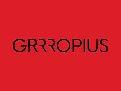 Grrropius Visual Identity bauhaus100 branding design print logo identity