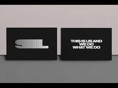 SUOL Visual Identity 3d typogaphy branding stationery print logo identity