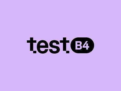 Test B4 - Logo Design branding design logo print identity