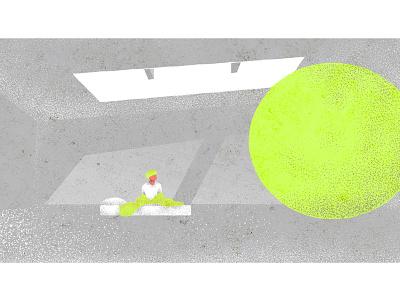 Serendipity - Jimin texture vector yellow illustration fanart bts jimin serendipity