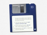 Floppy disk blog post