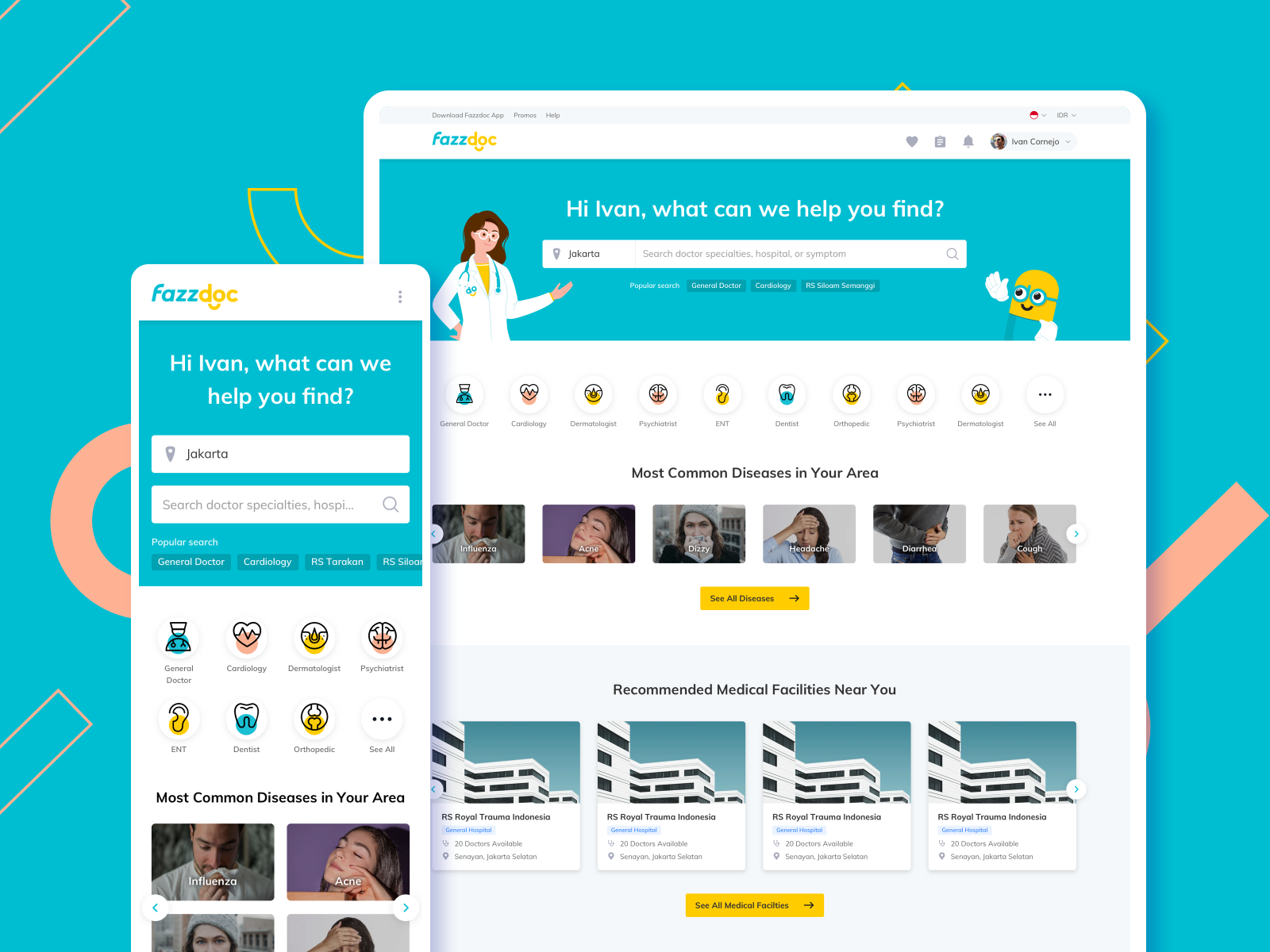Fazzdoc Health Startup Offers Rapid On-Site Services