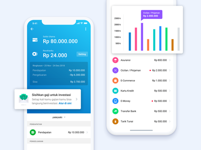 Fundtastic Wallet 👛 sketch invest fundtastic graph icon finance mobile illustration cards design app ux ui
