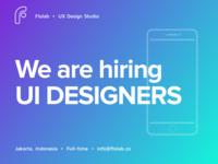 Flolab is Hiring a UI Designer