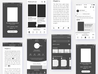 Mojoreads: Wireframes Interaction Design