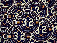 3-2 Designs Badge