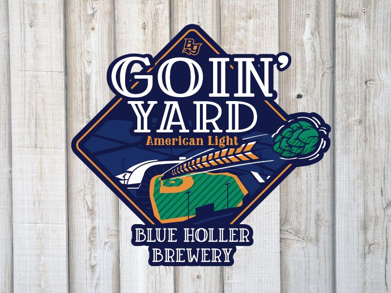 Goin' Yard Ball Park Beer american baseball kentucky blue holler brewery hops beer hot rods bowling green