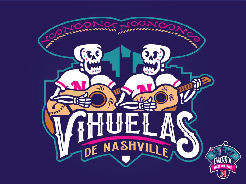 Nashville Vihuelas Concept calavera copa vihuela concept guitar music city nashville sounds nashville milb baseball