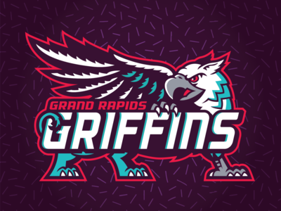 Grand Rapids Griffins - 90's Night Logos