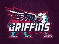 Grand Rapids Griffins - 90's Night Logos